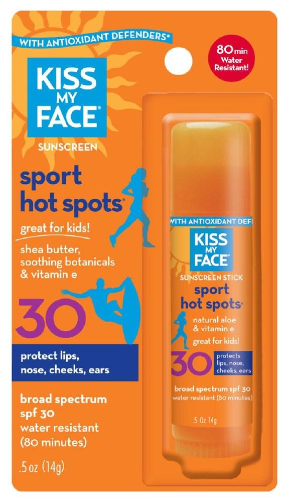 Kiss My Face Hot Spots Organic SPF 30