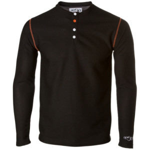 photo: EESA Yaw Henley long sleeve performance top