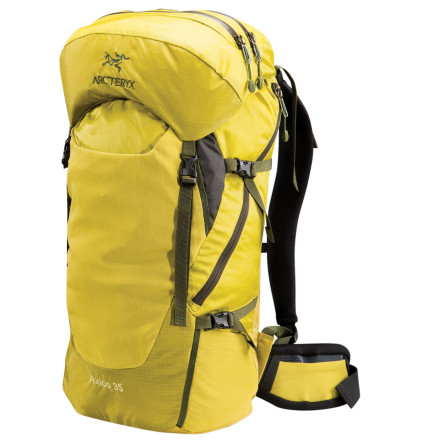 photo: Arc'teryx Axios 35 overnight pack (2,000 - 2,999 cu in)
