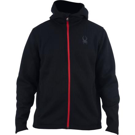 photo: Spyder Upward Full-Zip Hoodie fleece jacket