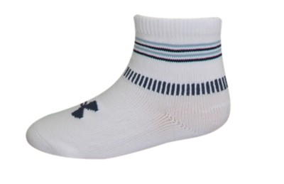 photo: Under Armour Pin Stripe Sock 0-6 Months hiking/backpacking sock