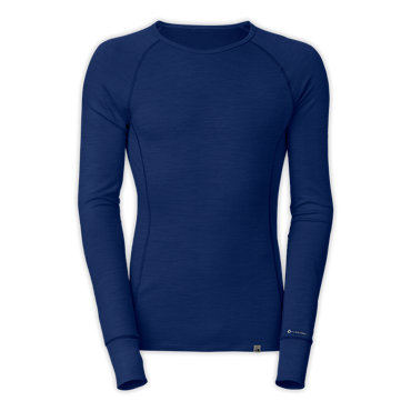 photo: The North Face Warm Blended Merino Long Sleeve Crew base layer top