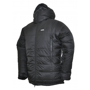 photo of a Crux down insulated jacket
