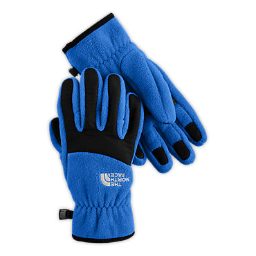 photo: The North Face Boys' Denali Glove fleece glove/mitten