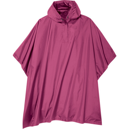 photo: Sierra Designs Girls' Storm Poncho waterproof jacket