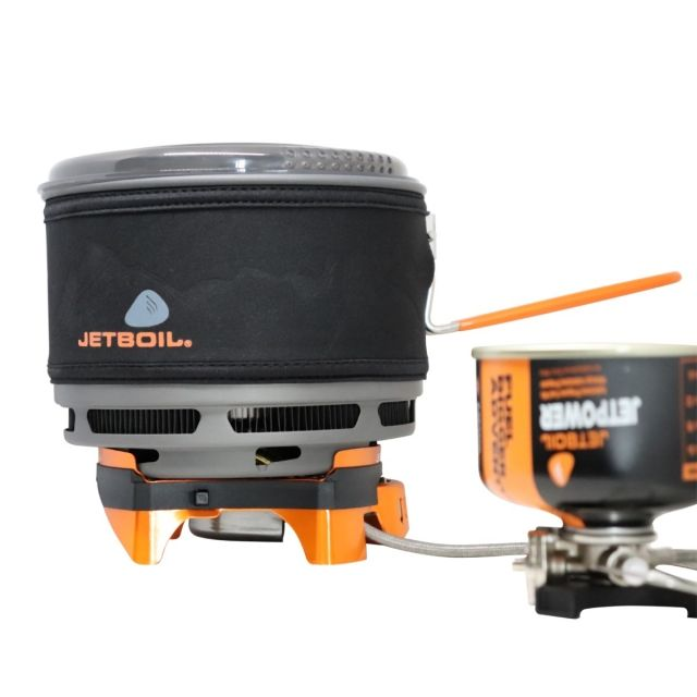 photo: Jetboil milliJoule Cooking System compressed fuel canister stove