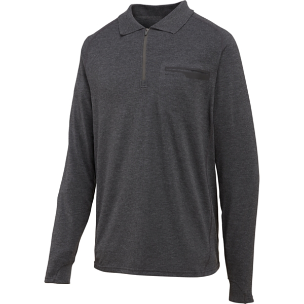 photo: Merrell Geo LS Polo long sleeve performance top