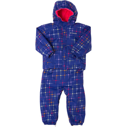 photo: Columbia First Snow Set kids' snowsuit/bunting