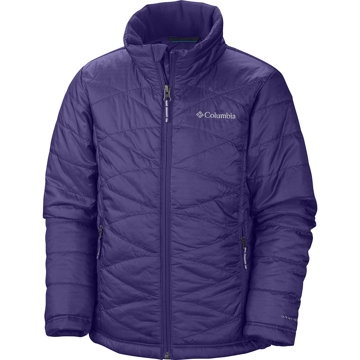 photo: Columbia Girls' Mighty Lite Jacket synthetic insulated jacket