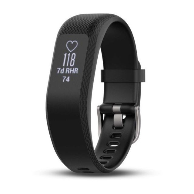 photo: Garmin vivosmart 3 heart rate monitor