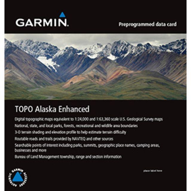 Garmin TOPO Alaska Enhanced microSD Data Card