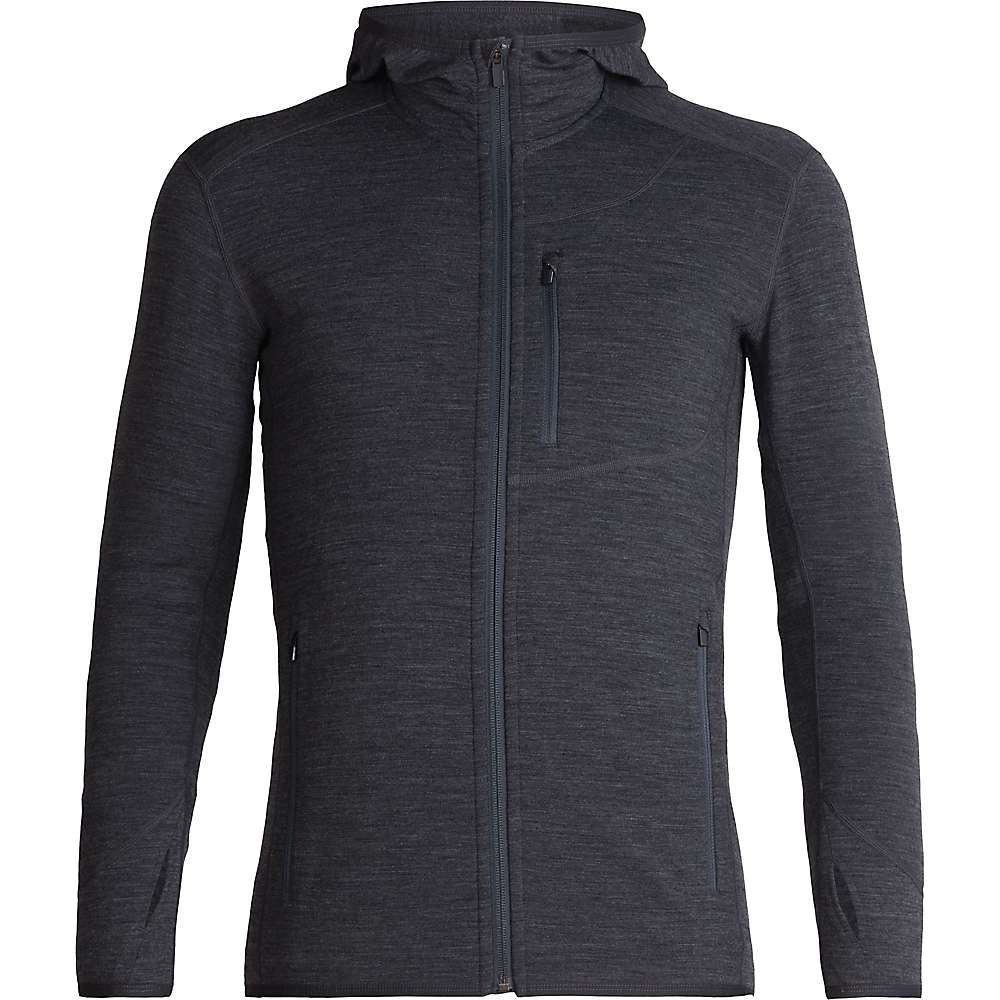 Icebreaker Descender Long Sleeve Zip Hood