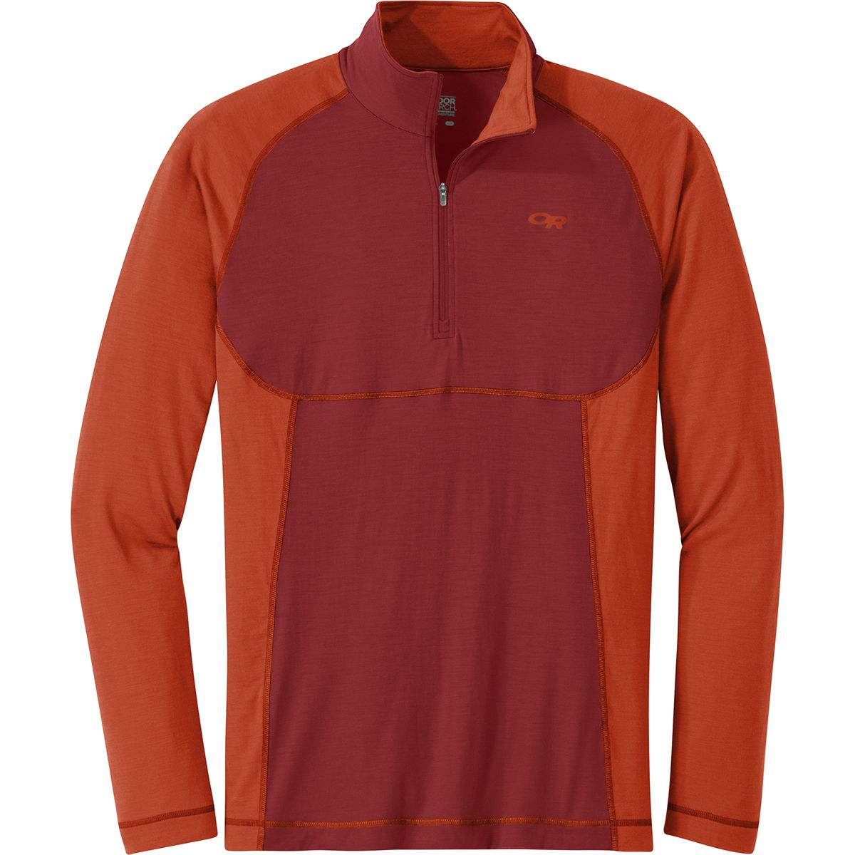 photo: Outdoor Research Alpine Onset Zip Top base layer top