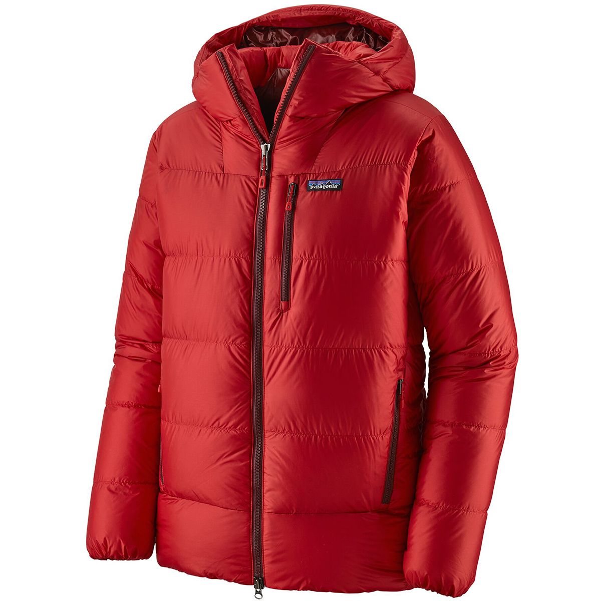 photo: Patagonia Men's Fitz Roy Down Parka down insulated jacket