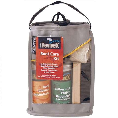 photo: ReviveX Boot Care Kit footwear cleaner/treatment