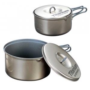 Evernew Ti Non-Stick Pot .9L