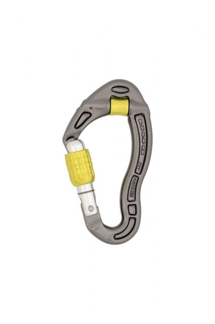photo: DMM Revolver Screwgate locking carabiner