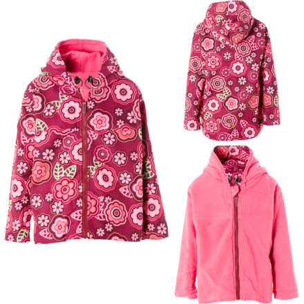 photo: Outside Baby Girls' 2 Layer Windproof Jacket fleece jacket