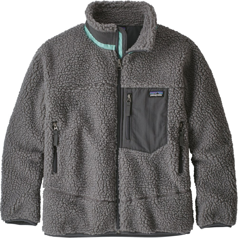 photo: Patagonia Kids' Retro-X Jacket fleece jacket
