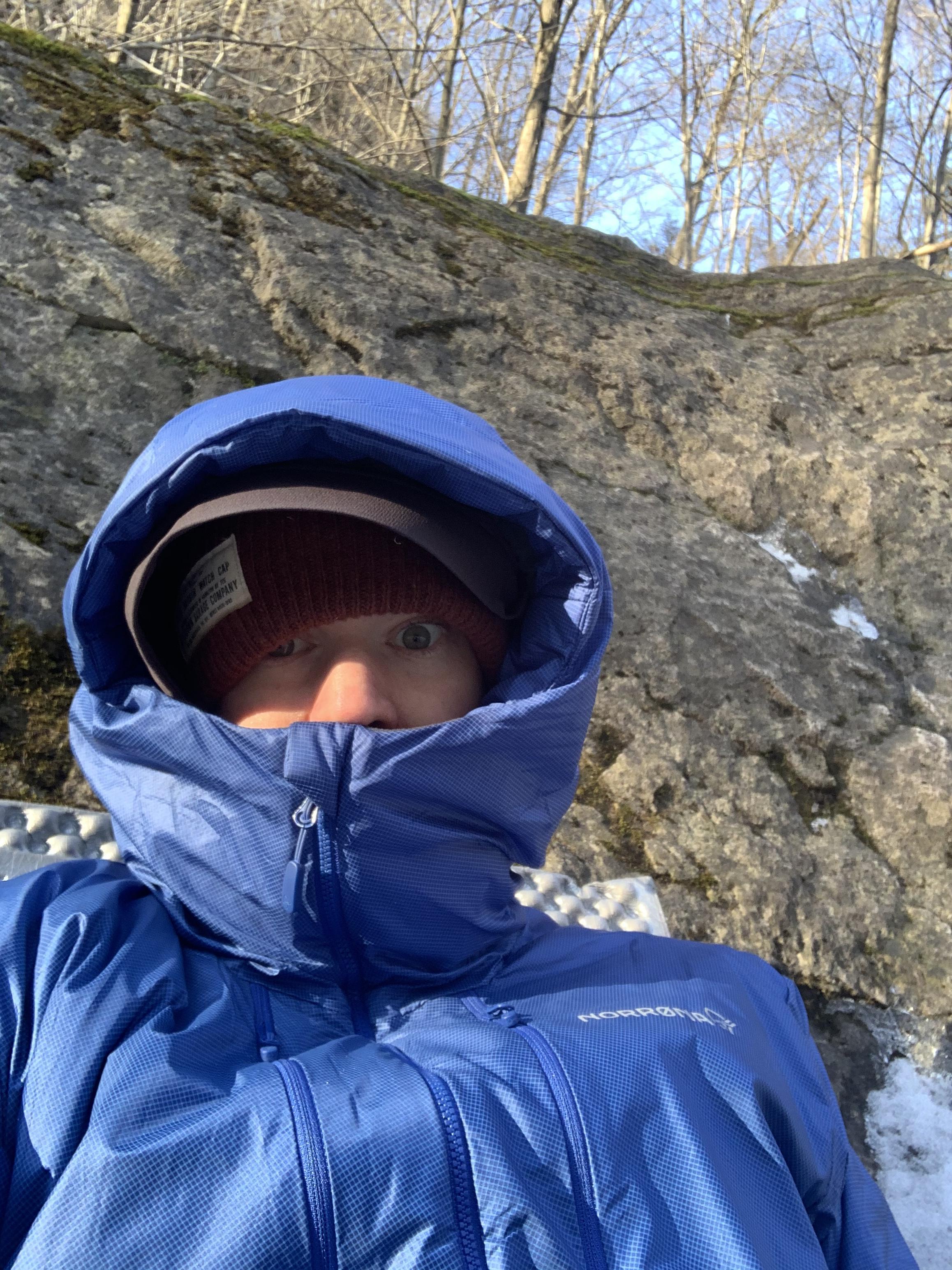 photo: Norrona Men's Trollveggen Primaloft100 Zip Hood synthetic insulated jacket