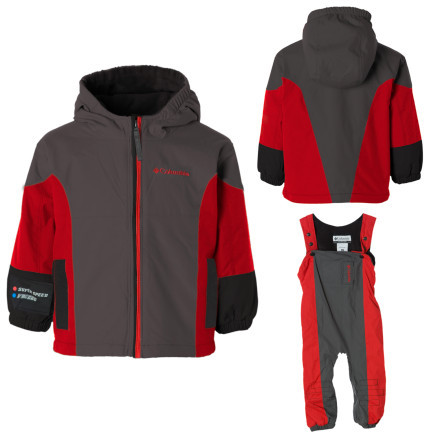 photo: Columbia Kids' Phoom-Shoom Set kids' snowsuit/bunting