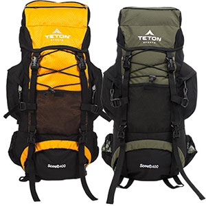 photo: Teton Sports Scout 3400 weekend pack (3,000 - 4,499 cu in)