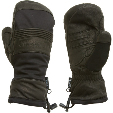 photo: Black Diamond Tempest Mitten waterproof glove/mitten