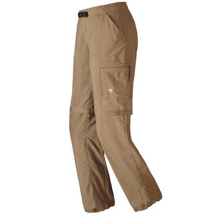 photo: Mountain Hardwear Women's Mesa Convertible Pant hiking pant