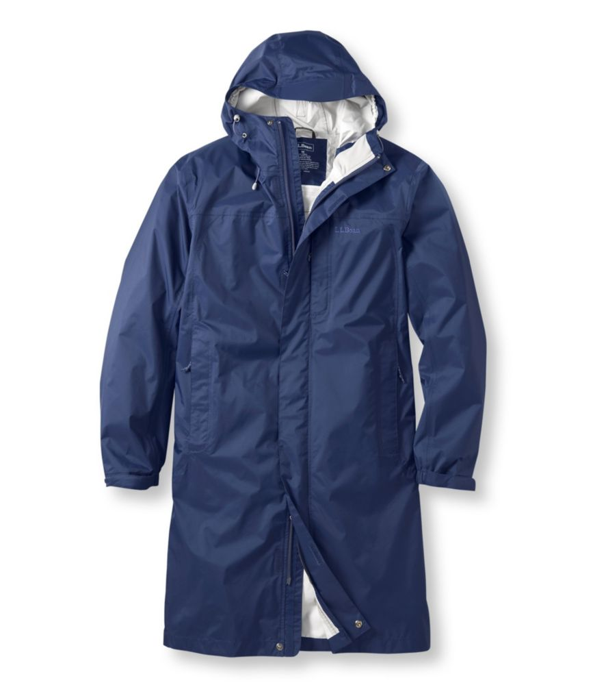 photo: L.L.Bean Men's Trail Model Raincoat waterproof jacket
