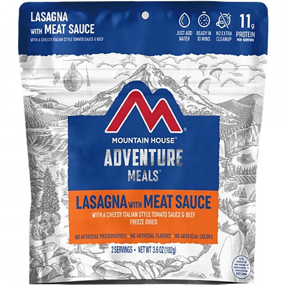 photo: Mountain House Lasagna with Meat Sauce meat entrée