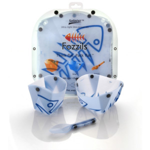 photo: Fozzils Soloist Set plate/bowl
