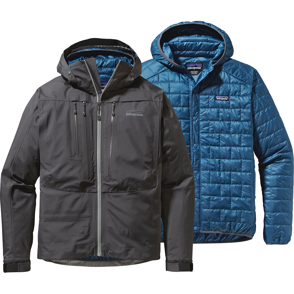 photo: Patagonia 3-in-1 River Salt Jacket component (3-in-1) jacket