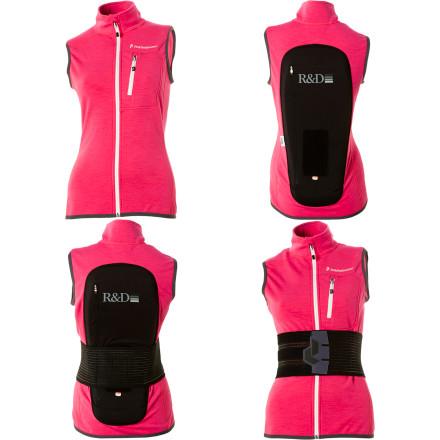 photo: Peak Performance Women's Heli Shield Vest soft shell vest