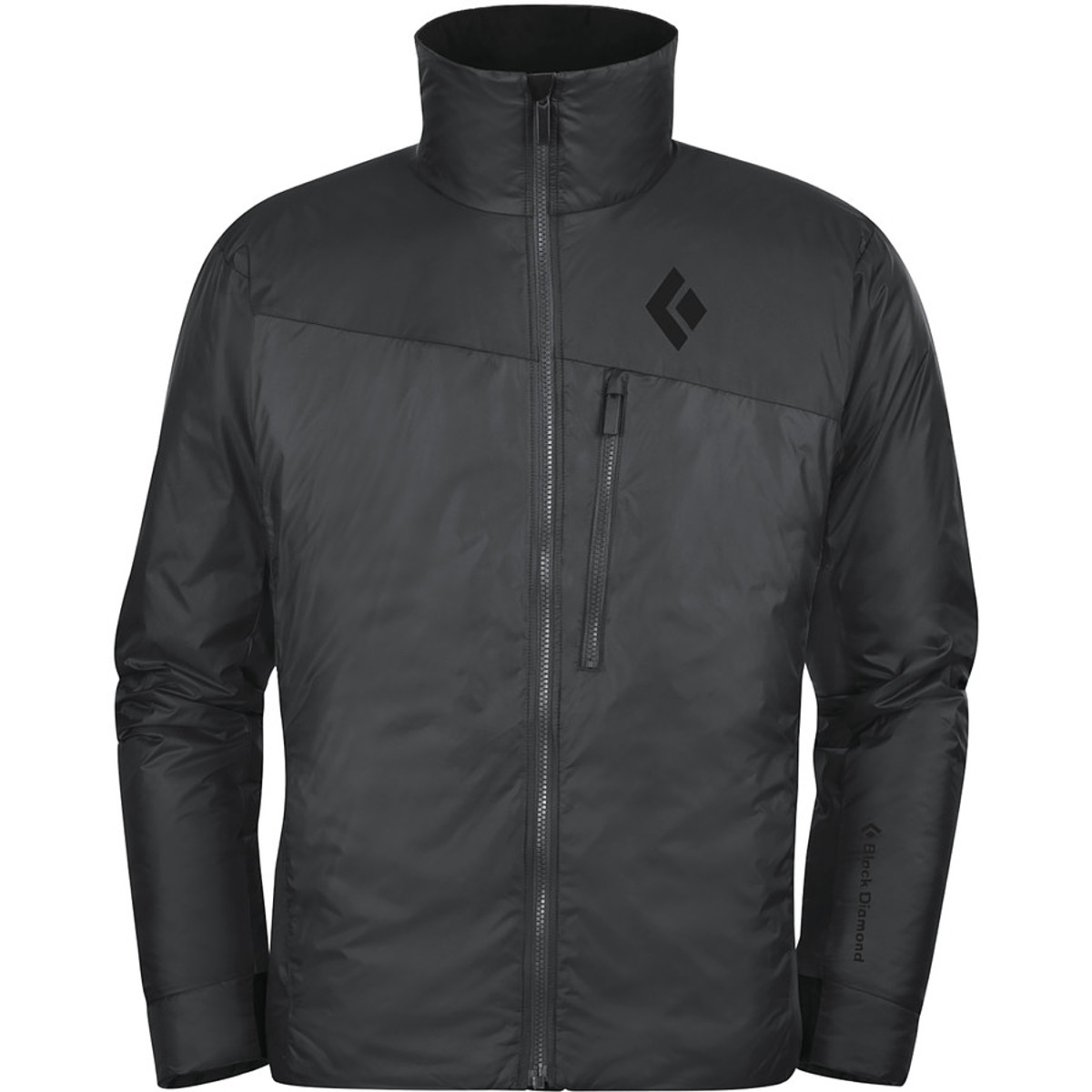 photo: Black Diamond Stance Belay Jacket synthetic insulated jacket