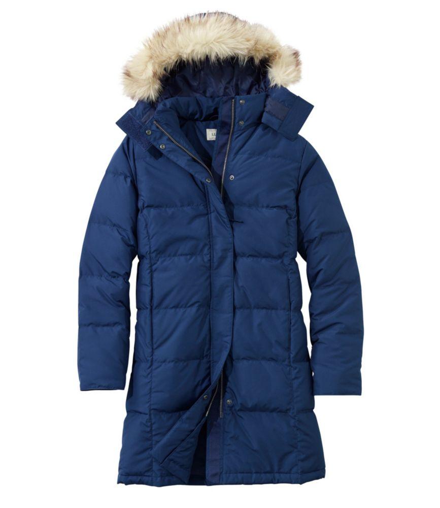 photo: L.L.Bean Ultrawarm Coat, Three-Quarter Length down insulated jacket