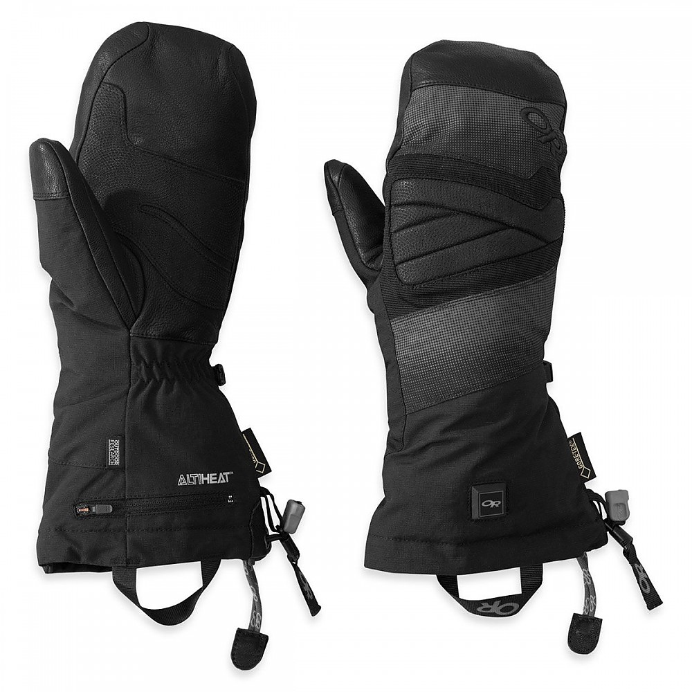 photo: Outdoor Research Lucent Heated Mitts insulated glove/mitten