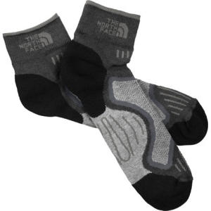 photo: The North Face Men's Cushioned Running Quarter Sock running sock