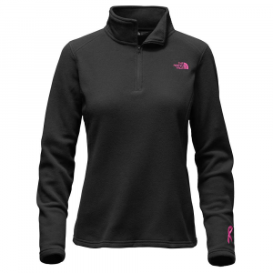 photo: The North Face Women's Glacier 1/4 Zip fleece top