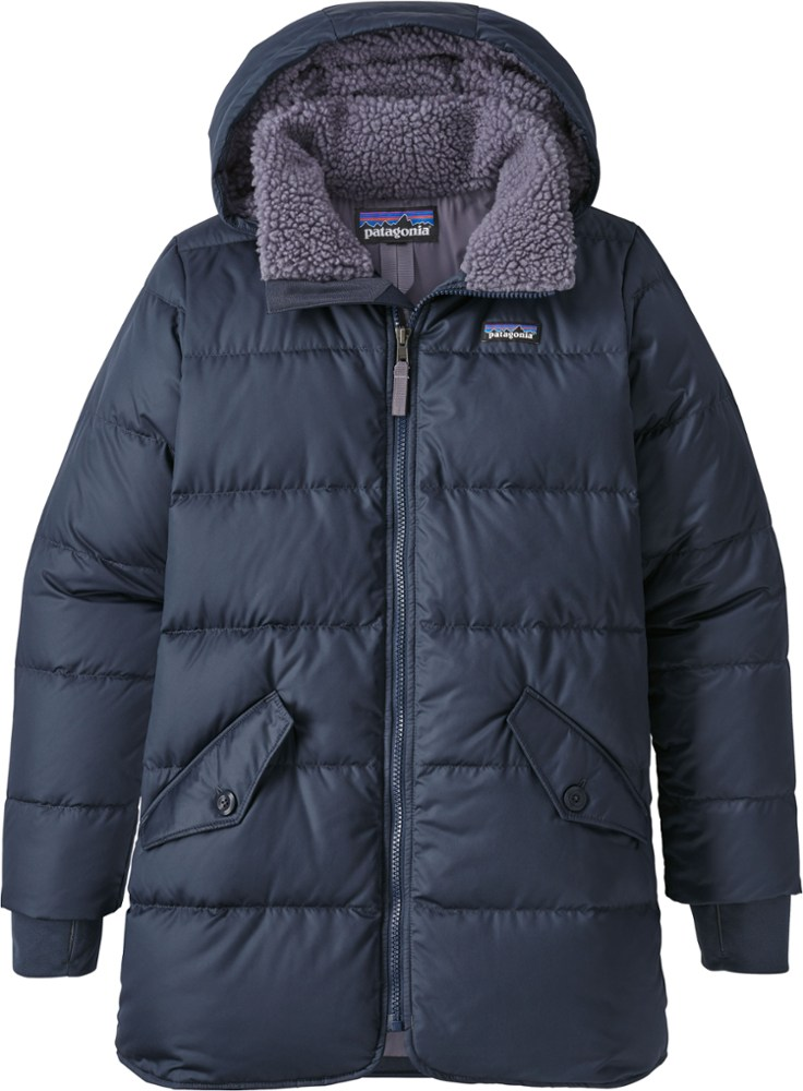 photo: Patagonia Girls' Down Parka down insulated jacket