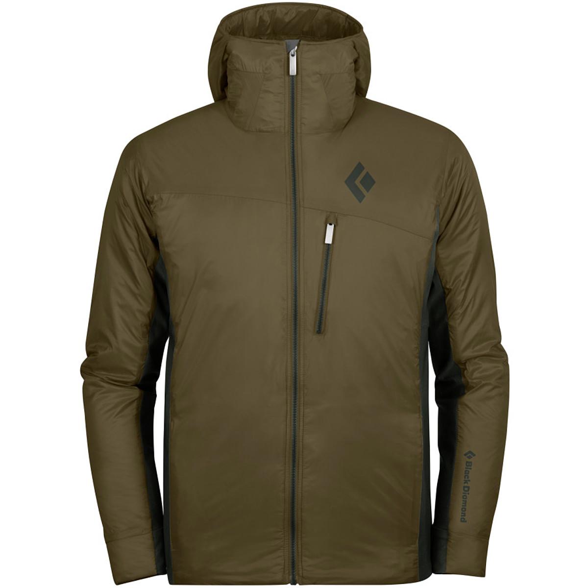 photo: Black Diamond Men's Access Hybrid Hoody synthetic insulated jacket