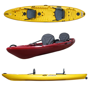 photo: LiquidLogic Deuce Coupe sit-on-top kayak