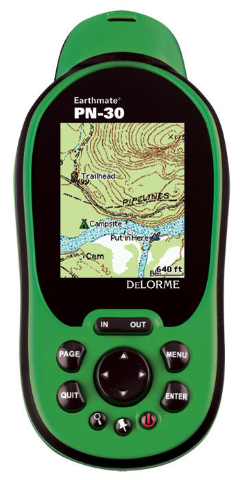 photo: DeLorme Earthmate GPS PN-30 handheld gps receiver