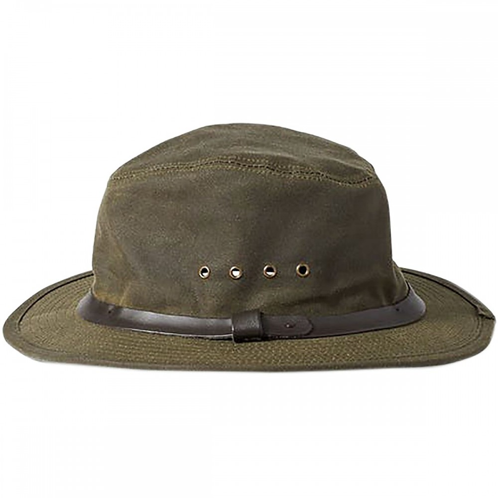 photo: Filson Tin Packer Hat rain hat