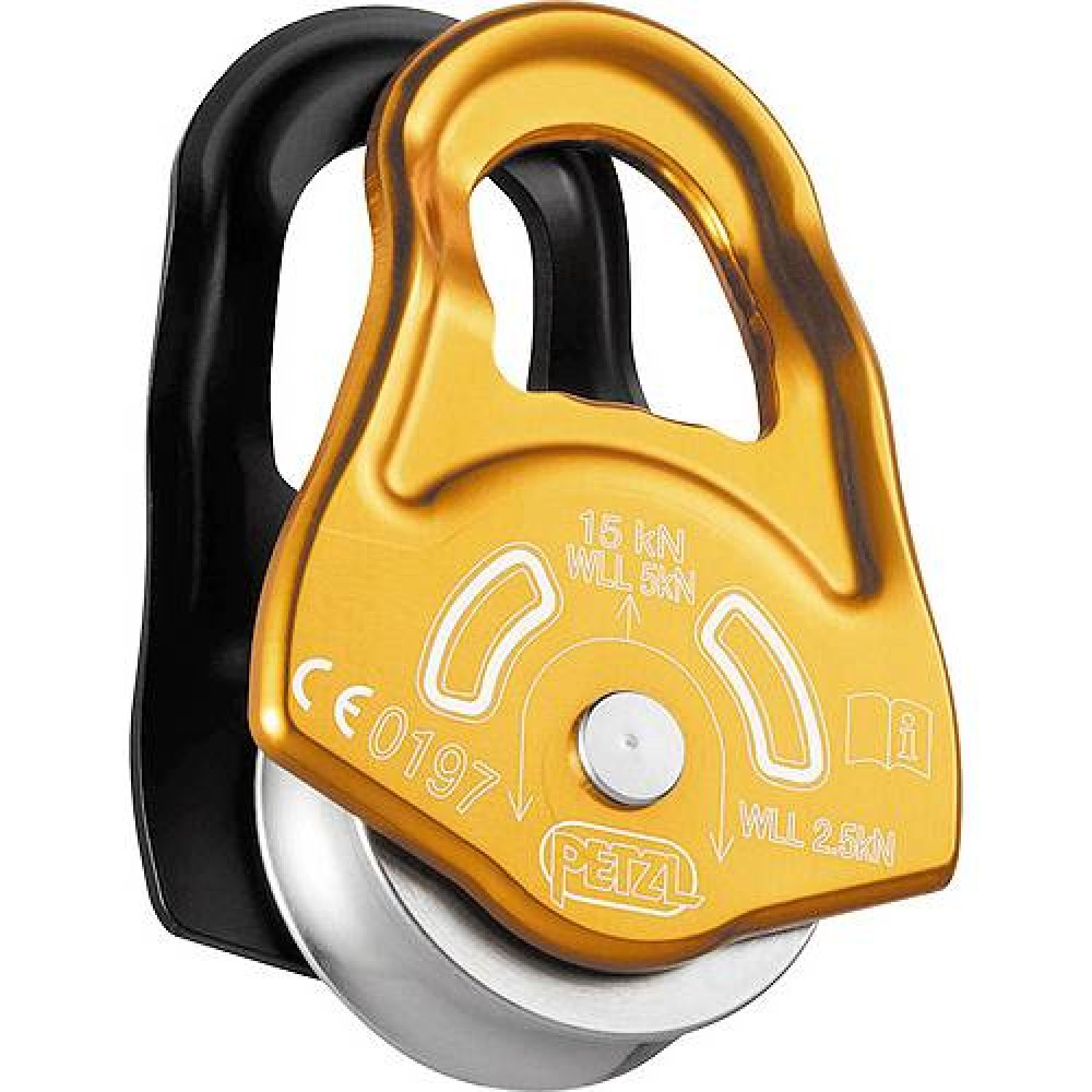 photo: Petzl Partner pulley