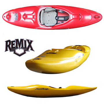 photo: LiquidLogic Remix 59 whitewater kayak