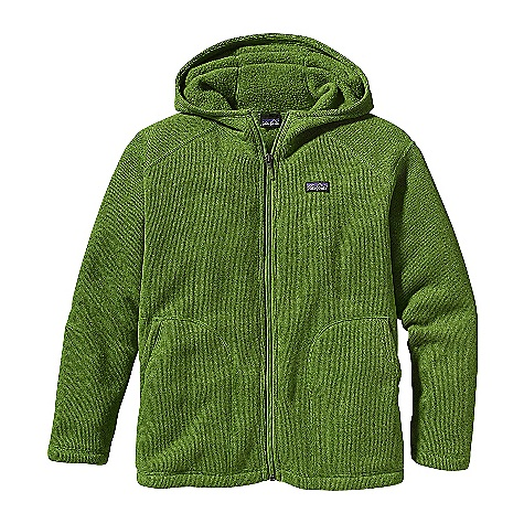 photo: Patagonia Boys' Better Sweater Hoody fleece jacket