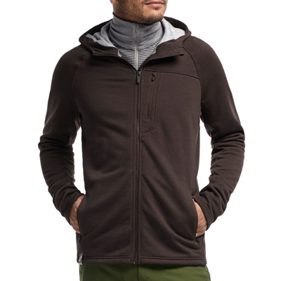 Icebreaker Sierra Plus Long Sleeve Zip Hood