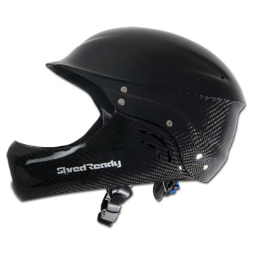 Shred Ready Carbon Deluxe Full Face Helmet