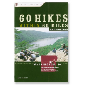 photo: Menasha Ridge Press 60 Hikes Within 60 Miles: Washington D.C. us northeast guidebook