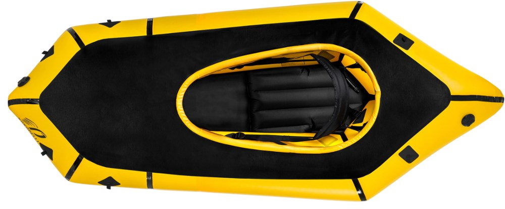 photo of a Kokopelli Packraft packraft